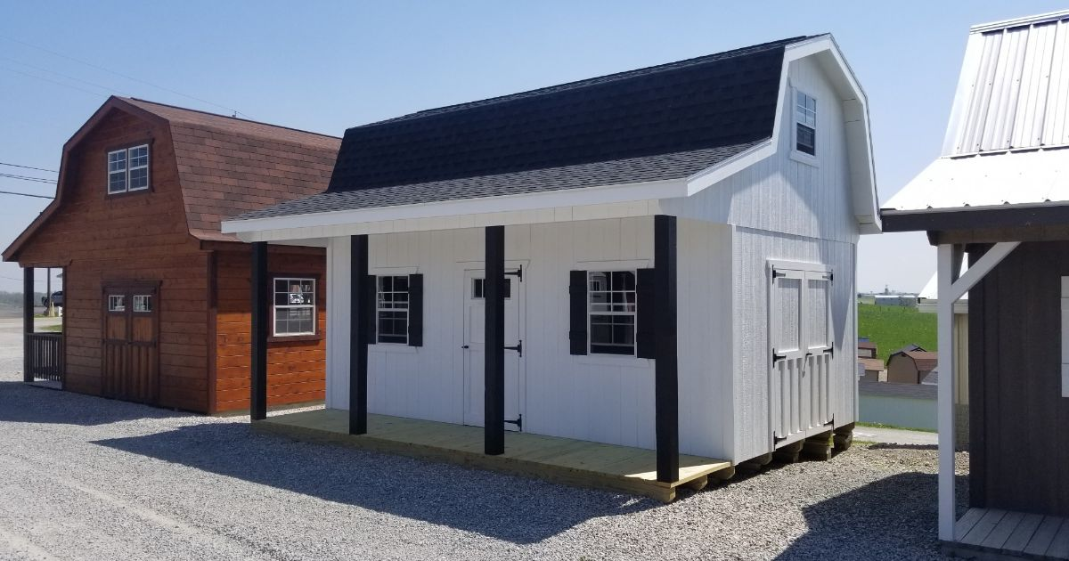 Reliable Storage Barns And Sheds That Last Miller S