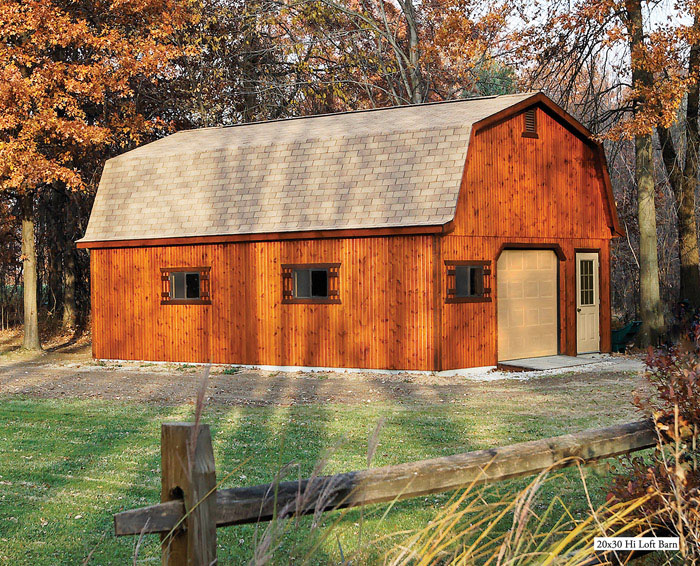 Products miller 39 s storage barns for Barn storage sheds with loft