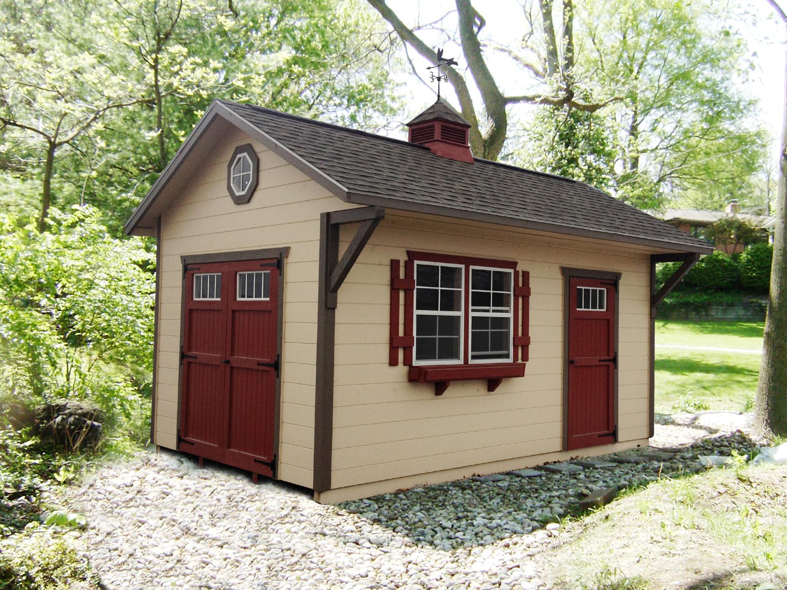 Ultimate Gables 2 Overhang Miller Storage Barns