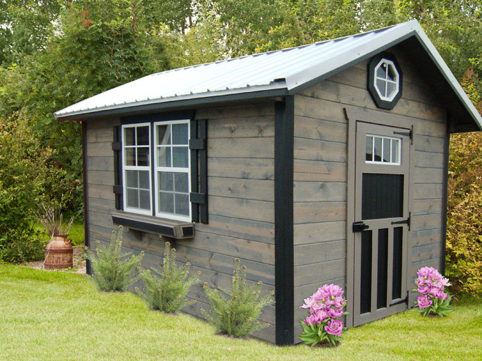 Reliable storage barns and sheds that last miller 39 s for Buy potting shed